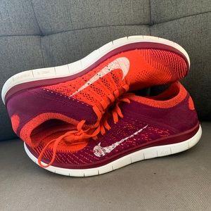 Nike free flyknit 4.0 women's shoes